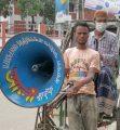 ব্রাজিল-আর্জেন্টিনা ফাইনাল : ব্রাহ্মণবাড়িয়ায় পুলিশের মাইকিং