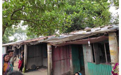 জামশা আশ্রয়ন প্রকল্পে পরিত্যক্ত ঘরে ৬০টি পরিবারের বসবাস