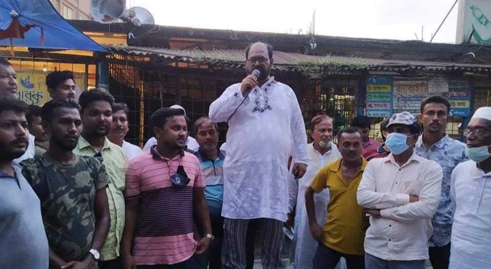 ইউনিয়ন আওয়ামীলীগের সভাপতি আব্দুল মজিদ বাবলু মালিথার বিরুদ্ধে ষড়যন্ত্রের প্রতিবাদ