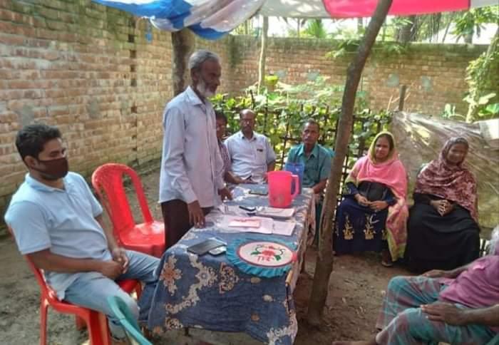 ফুলবাড়ীতে ক্ষেতমজুর সমিতি'র বর্ধিত সভা অনুষ্ঠিত
